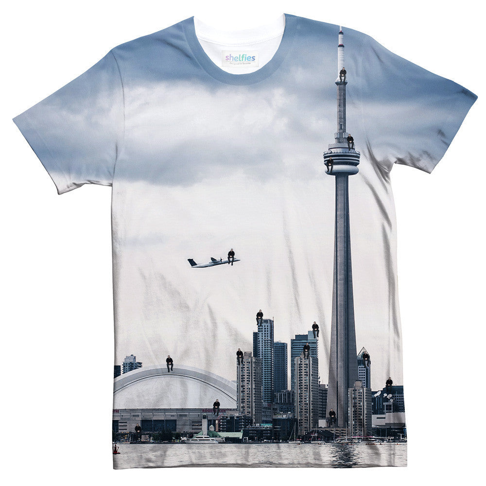2 Many Views T-Shirt-Shelfies-| All-Over-Print Everywhere - Designed to Make You Smile