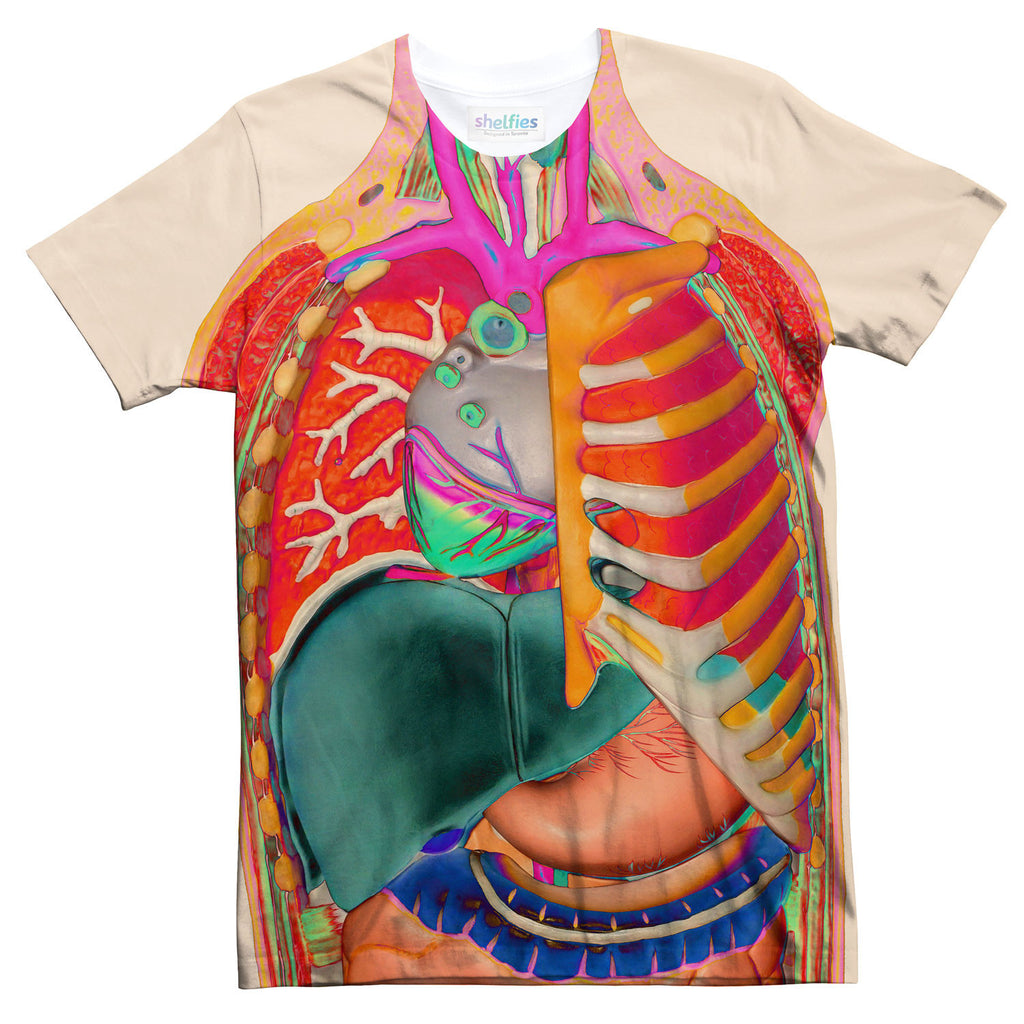 Anatomy T-Shirt-kite.ly-| All-Over-Print Everywhere - Designed to Make You Smile