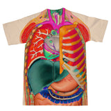 Anatomy T-Shirt-Shelfies-| All-Over-Print Everywhere - Designed to Make You Smile