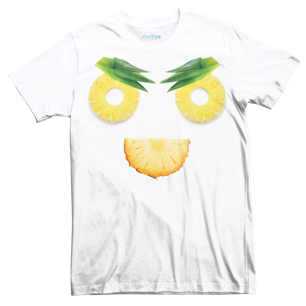 Angry Pineapple T-Shirt-Shelfies-| All-Over-Print Everywhere - Designed to Make You Smile
