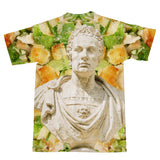 Caesar XVI Salad T-Shirt-Shelfies-| All-Over-Print Everywhere - Designed to Make You Smile