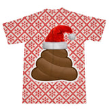 Christmas Poo Emoji T-Shirt-kite.ly-| All-Over-Print Everywhere - Designed to Make You Smile