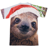 Christmas Sloth T-Shirt-Shelfies-| All-Over-Print Everywhere - Designed to Make You Smile