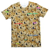 "Doge ""Much Fashun"" Invasion T-Shirt-Subliminator-