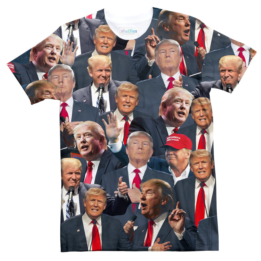 T-Shirts - Donald Trump Face T-Shirt