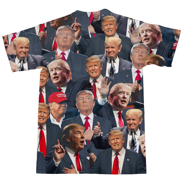 Donald Trump Face T-Shirt-kite.ly-| All-Over-Print Everywhere - Designed to Make You Smile