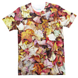Fall Leaves T-Shirt-Shelfies-| All-Over-Print Everywhere - Designed to Make You Smile