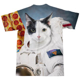 First Cat on the Moon T-Shirt-kite.ly-| All-Over-Print Everywhere - Designed to Make You Smile