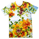 T-Shirts - Floral Clouds T-Shirt