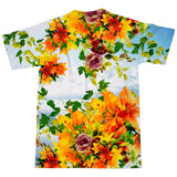 Floral Clouds T-Shirt-kite.ly-| All-Over-Print Everywhere - Designed to Make You Smile
