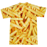 French Fries Invasion T-Shirt-Subliminator-| All-Over-Print Everywhere - Designed to Make You Smile