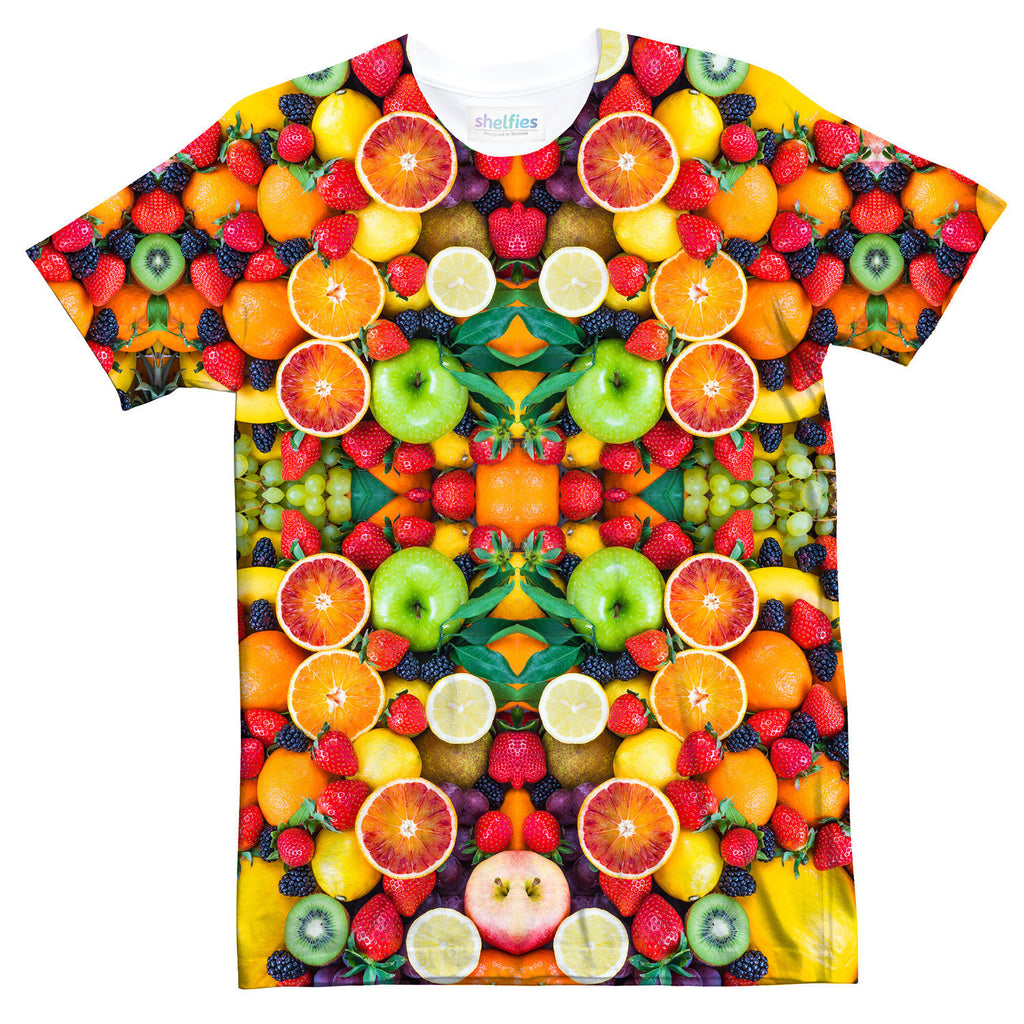 Fruit Explosion T-Shirt-Shelfies-| All-Over-Print Everywhere - Designed to Make You Smile