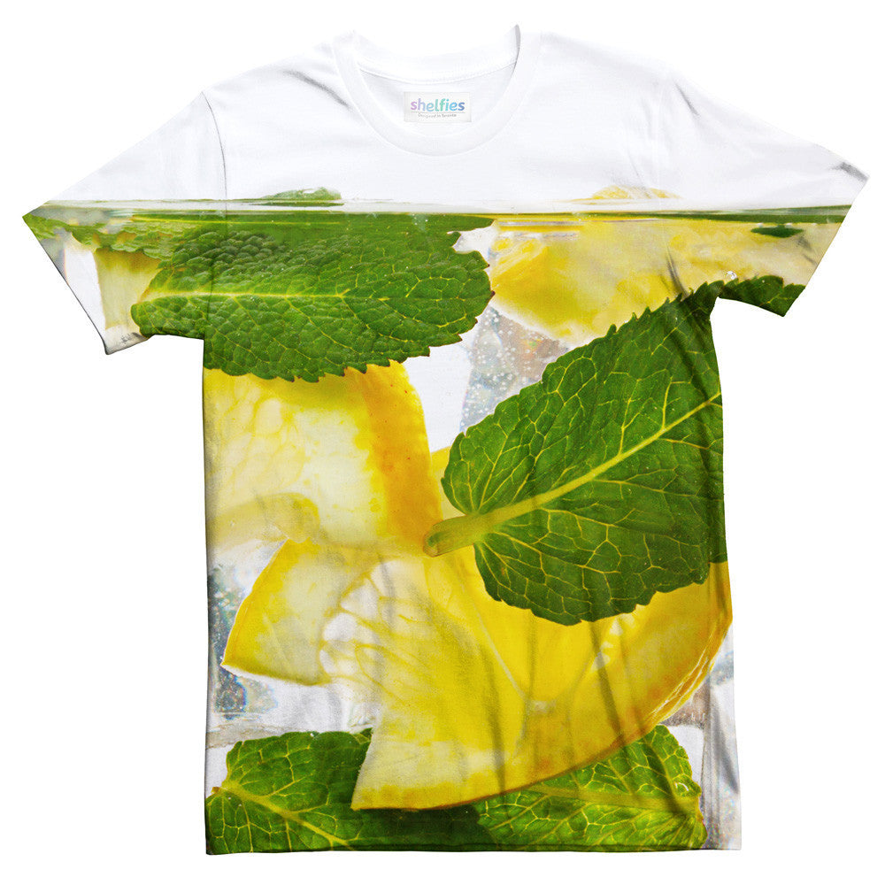 G&T T-Shirt-Shelfies-| All-Over-Print Everywhere - Designed to Make You Smile