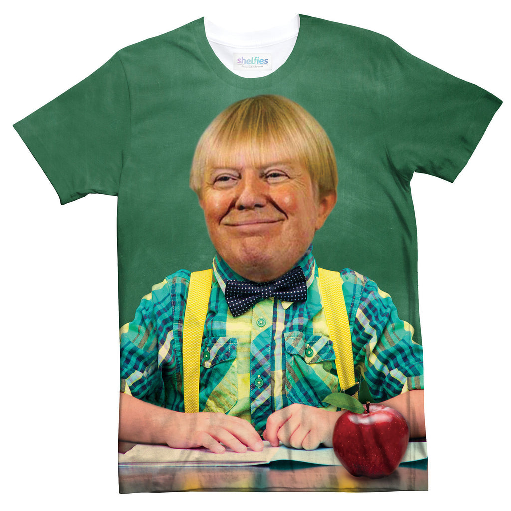 Grade Schooler Trump T-Shirt-kite.ly-| All-Over-Print Everywhere - Designed to Make You Smile