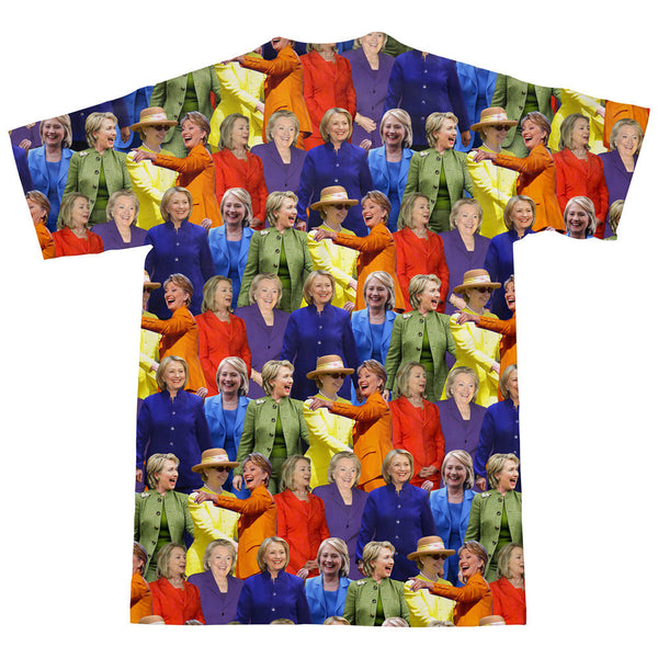 T-Shirts - Hillary Clinton Rainbow Jumpsuits T-Shirt
