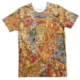 Indian Gods T-Shirt-Subliminator-| All-Over-Print Everywhere - Designed to Make You Smile