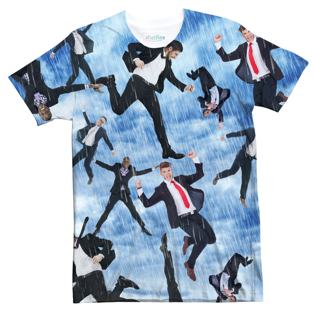 It's Raining Men T-Shirt-Shelfies-| All-Over-Print Everywhere - Designed to Make You Smile