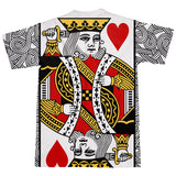 King of Hearts T-Shirt-Subliminator-| All-Over-Print Everywhere - Designed to Make You Smile