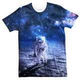 Lonely Astronaut T-Shirt-kite.ly-| All-Over-Print Everywhere - Designed to Make You Smile