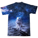 Lonely Astronaut T-Shirt-Shelfies-| All-Over-Print Everywhere - Designed to Make You Smile