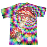 Magic Fungi T-Shirt-kite.ly-| All-Over-Print Everywhere - Designed to Make You Smile