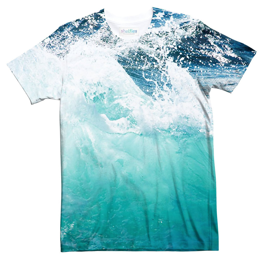 Ocean Wave T-Shirt-Subliminator-| All-Over-Print Everywhere - Designed to Make You Smile