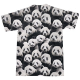 Panda Invasion T-Shirt-Shelfies-| All-Over-Print Everywhere - Designed to Make You Smile