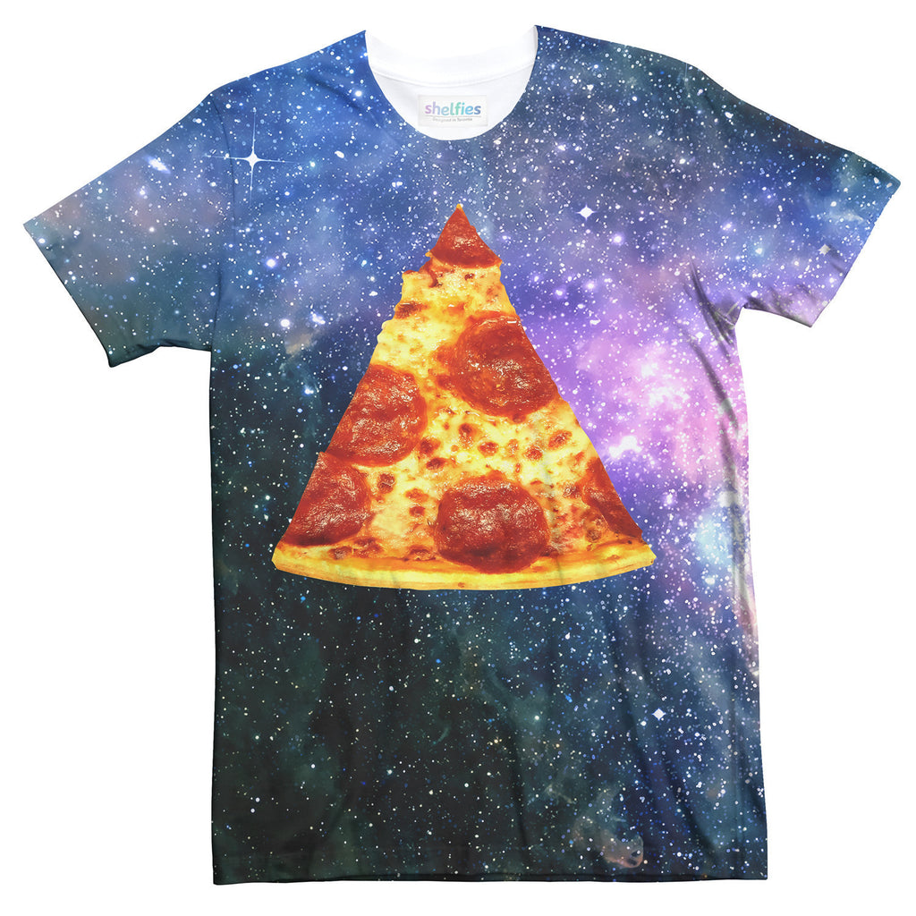 Pizza Galaxy T-Shirt-kite.ly-| All-Over-Print Everywhere - Designed to Make You Smile