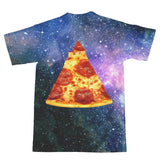 Pizza Galaxy T-Shirt-Shelfies-| All-Over-Print Everywhere - Designed to Make You Smile