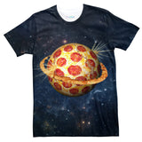 Planet Pizza T-Shirt-Shelfies-| All-Over-Print Everywhere - Designed to Make You Smile