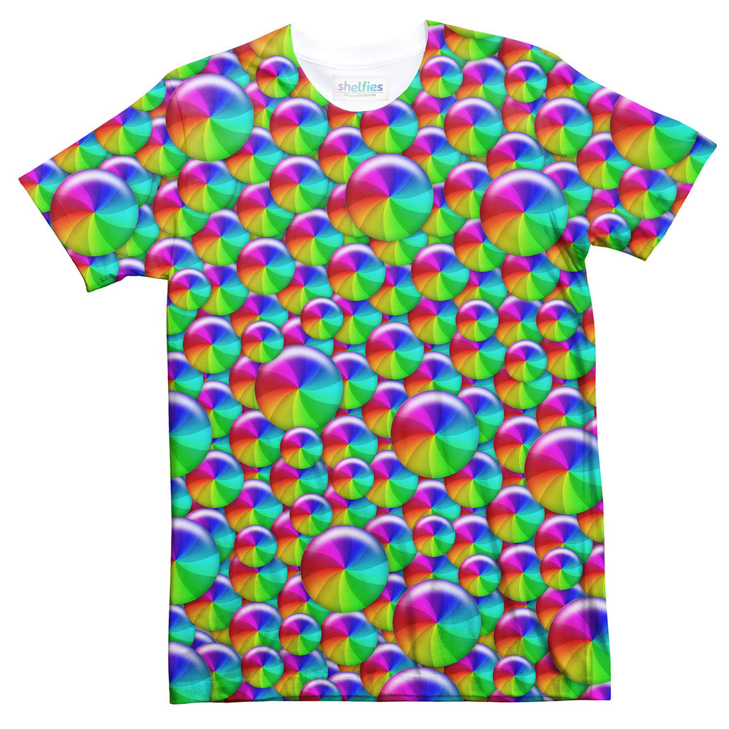 Rainbow Wheel T-Shirt-Shelfies-| All-Over-Print Everywhere - Designed to Make You Smile