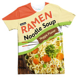 Ramen Noodle Pack T-Shirt-Shelfies-| All-Over-Print Everywhere - Designed to Make You Smile