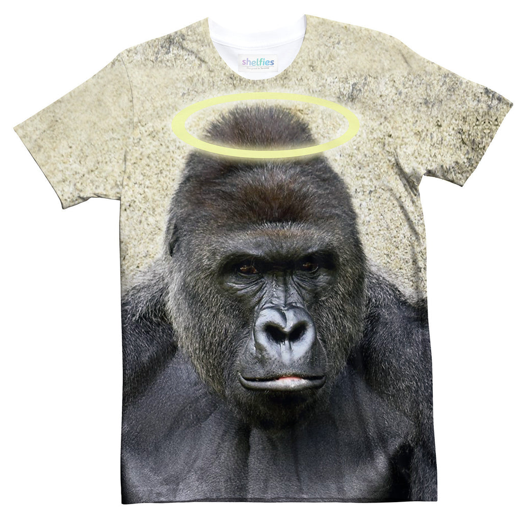 RIP Harambe T-Shirt-Shelfies-| All-Over-Print Everywhere - Designed to Make You Smile