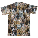 T-Shirts - Scaredy Cat Invasion T-Shirt