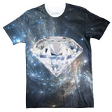 Space Diamond T-Shirt-Shelfies-| All-Over-Print Everywhere - Designed to Make You Smile