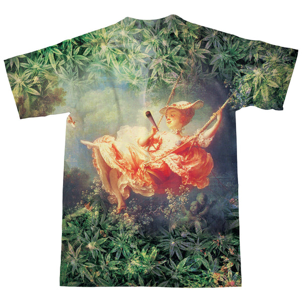 T-Shirts - The Happy High Of The Swing T-Shirt