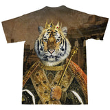 Tiger Emperor T-Shirt-Shelfies-| All-Over-Print Everywhere - Designed to Make You Smile