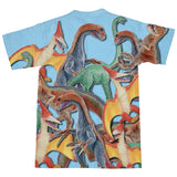 Toy Dinos T-Shirt-kite.ly-| All-Over-Print Everywhere - Designed to Make You Smile