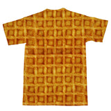 Waffle Invasion T-Shirt-Subliminator-| All-Over-Print Everywhere - Designed to Make You Smile