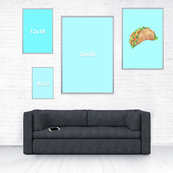 Taco Dirty To Me Poster-Shelfies-16 x 24-| All-Over-Print Everywhere - Designed to Make You Smile