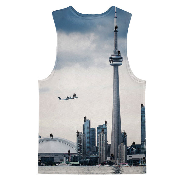 2 Many Views Tank Top-kite.ly-| All-Over-Print Everywhere - Designed to Make You Smile