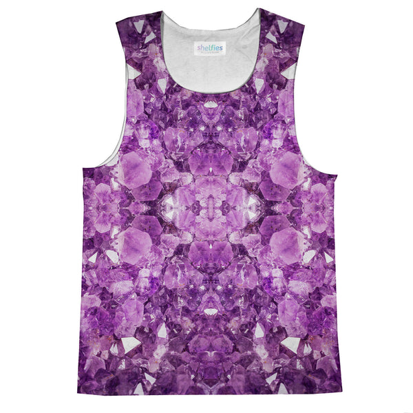 Amethyst Tank Top-kite.ly-| All-Over-Print Everywhere - Designed to Make You Smile