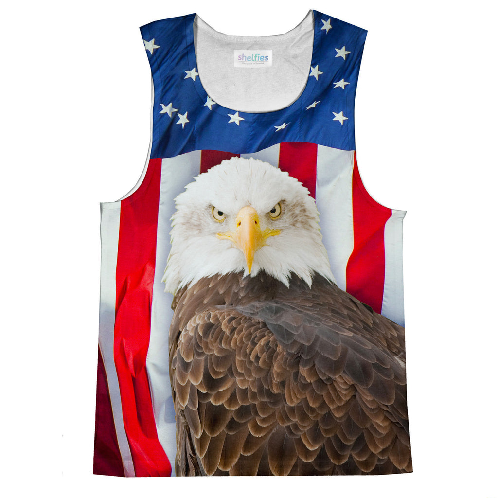 Tank Tops - Bald Eagle Tank Top