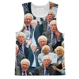 Tank Tops - Bernie Sanders Face Tank Top