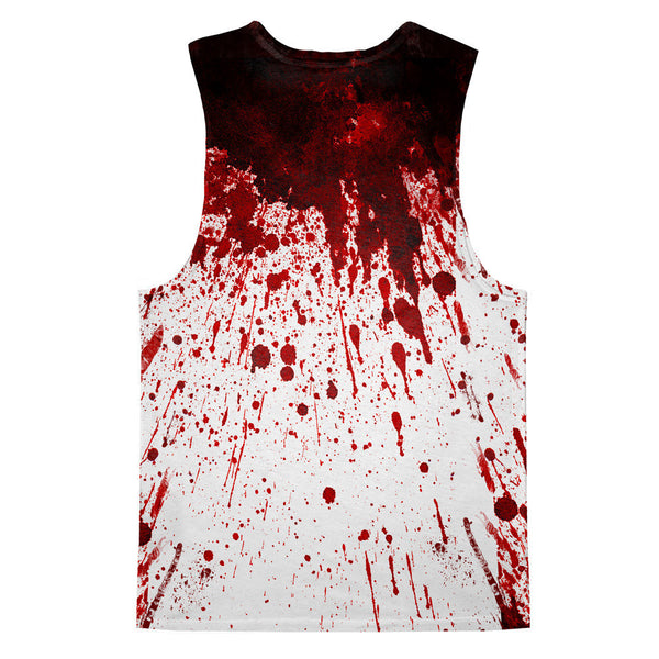 Tank Tops - Blood Splatter Tank Top