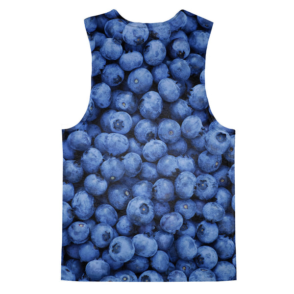 Blueberry Invasion Tank Top-kite.ly-| All-Over-Print Everywhere - Designed to Make You Smile