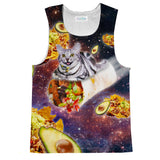 Tank Tops - Burrito Cat Tank Top