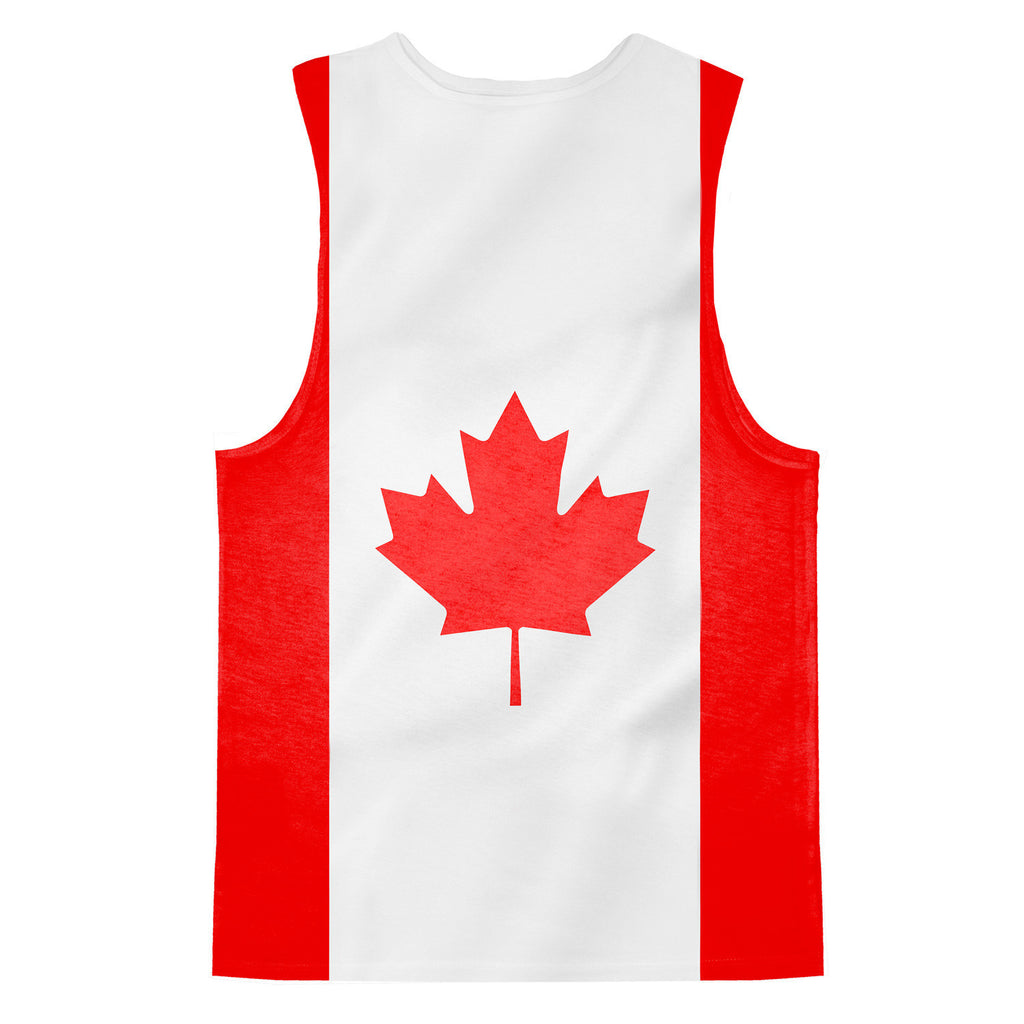 Canadian Flag Tank Top Shelfies