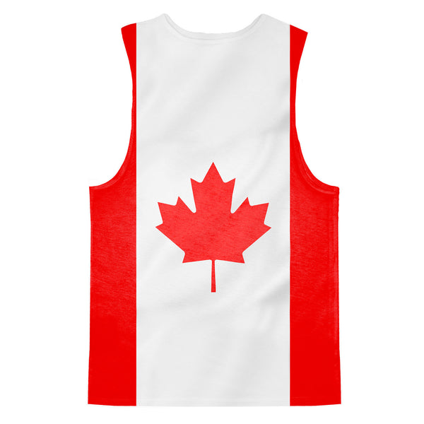 Tank Tops - Canadian Flag Tank Top