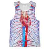 Chakra Heart Tank Top-kite.ly-| All-Over-Print Everywhere - Designed to Make You Smile